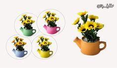 گلدان مصنوعی آفتاب گردان طرح آبپاش با % تخفیف و پرداخت  تومان به جای  تومان