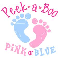 Pink or blue maternity transfer for gender reveal. Check out this item in my Etsy shop https://www.etsy.com/listing/238144218/instant-pink-or-blue-maternity-digital