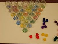 The Widow Borrowed JARS...Review Game!!! Baby Food Jars and Pom-Pom Balls!!! Hands On Bible Teacher