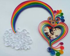 Items similar to Handmade Owl Paper Quilling Art on Etsy