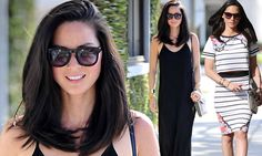 Olivia Munn collar bone-length hair