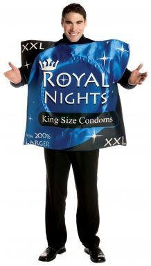 Condom costume for adults