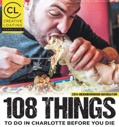 Hmmm, Charlotte looks pretty cool... 108 Things to do in Charlotte - Looking for something to do?! This is perfection.