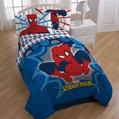 Spider-Man Reversible Comforter ($40) ❤ liked on Polyvore
