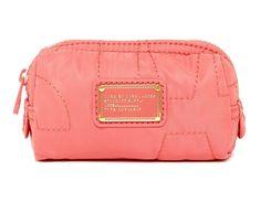 b7818ce2ce3c Marc by Marc Jacobs Rose Quartz Blush Pink New Nylon Makeup Pouch Cosmetic  Bag 29% off retail
