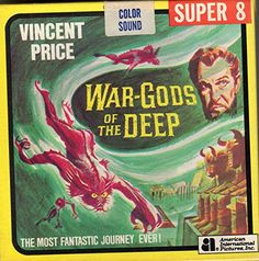 War Gods of the Deep in format Movie Reels, Film Reels, Film Movie, Movies Box, Sci Fi Movies, John Carradine, Claude Rains, Teenage Werewolf, Lon Chaney Jr