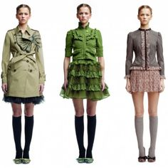 Red Valentino Fall/Winter 2011 collection