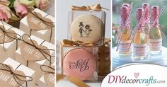 We have collected a wide range of wedding thank you gifts. If you don't know what to give, you are guaranteed to find the best wedding gifts for guests. Handmade Wedding Gifts, Wedding Thank You Gifts, Wedding Gifts For Guests, Unique Wedding Gifts, Personalized Wedding Gifts, Inexpensive Wedding Favors, Diy Wedding Favors, Wedding Ideas, Thank You Presents