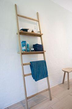 Leiterregal // Ladder shelf