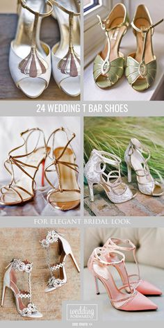 24 Wedding T Bar Shoes To Look Elegant ❤ What we love most about wedding t bar shoes the sense of luxury you feel when you step foot in a pair. See more: http://www.weddingforward.com/wedding-t-bar-shoes/ #weddings #shoes