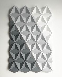 And here it is ready to leave our studio.  Moduuli Diagonal Grey to White Paper Panel - 40x64cm  @kingkongdesign #moduuli #paperdesign #paperart #paperartist #cansonpaper #papercraft #polskidesign #polishcraft #polishdesigner #handmade #handmadedecor #homedecor #mosaicart #geometrictiles #wallpanel #walltiles #wallcovering #3dwalltiles #acousticpanels #walldecor #3dwallpaper #whitewalls #whitepaper #greypaper #greywalls #geometricwallart