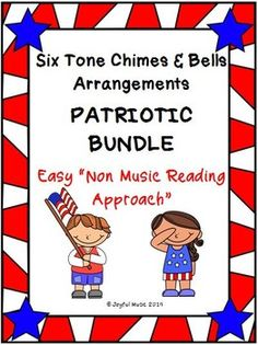 """*** $8.00***This product includes the following for each song in the PATRIOTIC BUNDLE:• Lesson Plan, Objectives, Procedures• Actual musical arrangement used for each piece• Sheet with lyrics and rhythms used in each piece• Individual printable """"music"""" for each chime or bell Songs included in the PAT... Music Classroom, Classroom Libraries, Classroom Resources, Teacher Pay Teachers, Teachers Toolbox, Teacher Binder, Teacher Stuff, The Power Of Music, Music Education"""