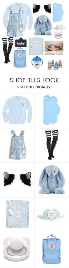 """baby boy // ddlb"" by sadaiden ❤ liked on Polyvore featuring STELLA McCARTNEY, Leg Avenue, Miss Selfridge, Jellycat, Bunnies by the Bay, Fjällräven, Tervis, men's fashion and menswear"