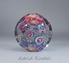 Astrid Riedel Glass Artist: Mokume gane style in Glass