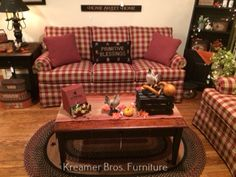 Country Sofas, Couch, Table, Furniture, Home Decor, Settee, Decoration Home, Sofa, Room Decor