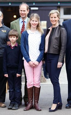 Prince Edward, Earl of Wessex and Sophie, Countess of Wessex Visit The Wild Place Project At Bristol Zoo on April 14, 2016 in Bristol, England.
