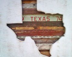 Texas reclaimed wood art - another artist that is tugging at my heart strings