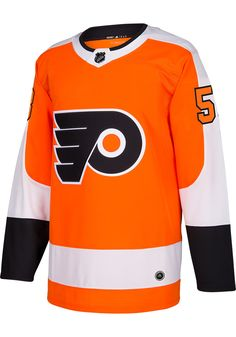 Take your Flyers support to the ice in this Philadelphia Flyers Orange Mens Authentic Hockey Jersey! Rally House has a great selection of new and exclusive Philadelphia Flyers t-shirts, hats, gifts and apparel, in-store and online. Hockey Shirts, Nhl Jerseys, Adidas Brand, Adidas Men, Hockey Season, Philadelphia Flyers, Adidas Originals Mens, Sports Fan Shop, Ice Hockey