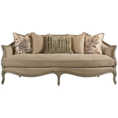 Caracole Frost Gray with Accents Sofa