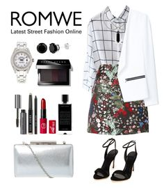 Romwe Contest by tresmastan on Polyvore featuring moda, MANGO, Valentino, Rolex, Bobbi Brown Cosmetics and Agonist
