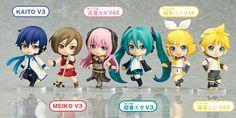Nendoroid Petite: Hatsune Miku Renewal Trading Figures Character Vocal Serie