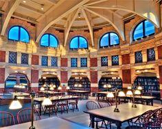Fisher Fine Arts Library at the University of Pennsylvania in Philadelphia, Pennsylvania