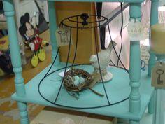 lamp shade cloche.....love this idea