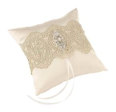 Your ring bearer will look amazing when he presents your wedding ceremony rings on this Vintage Gold Lace Ring Pillow. Ring Bearer Pillows, Ring Pillows, Gold Wedding Theme, Rose Wedding, Wedding Favors, Ivory Wedding, Autumn Wedding, Wedding Supplies, Wedding Themes