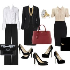 What to wear to an interview- The pieces on in this pictures. My only comment would be cautious about the heel height. Business Travel Outfits, Business Clothes, Yves Saint Laurent, Outfit Ideas, Valentino, Komplette Outfits, Work Outfits, Simple Outfits, Ruta Graveolens