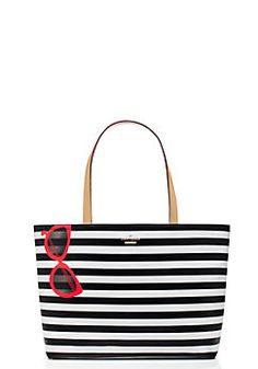 Striped tote #katespade