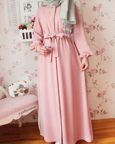 8 or 9 ? Which dress you like . Hijab Outfit, Hijab Style Dress, Abaya Style, Abaya Fashion, Modest Fashion, Fashion Clothes, Fashion Dresses, Muslim Women Fashion, Islamic Fashion