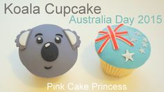 Cute koala cupcakes for Australia Day 2015 on this long weekend. Use them as cute animal cupcakes for your next kids birthday party too. Looking for more Aus. Animal Cupcakes, Love Cupcakes, Themed Cupcakes, Australia Cake, World's Best Food, Cake Business, Food Decoration, Creative Cakes, Cupcake Recipes