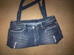 Old jeans into a bag