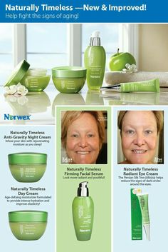 Chemical free and great for your skin. No more worrying about what toxins from your skin care and anti aging products are getting into your body! And works great! Look at that before and after!  Http://beccastanton.norwex.biz