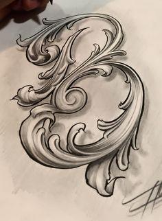 Letras dif lettering tattoo ideas graffiti lettering, chicano lettering y c Tattoo Lettering Styles, Chicano Lettering, Tattoo Script, Graffiti Lettering, Lettering Design, Typography, Tattoo Fonts Alphabet, Hand Lettering Alphabet, Calligraphy Letters