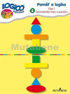 Paměť a logika – Část 1 <br/>- Geometrické tvary a panáčci - 1901   Nakladatelství Mutabene