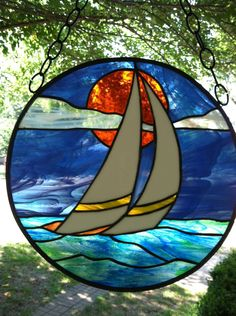 boat stained glass pattern - - Yahoo Image Search Results