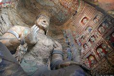 bLog de miguE: Cuevas con templos budistas (Galería).