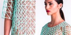 This Student Made An Entire Clothing Collection Using Only A 3D Printer (Photos)