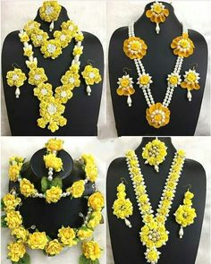 📌@imsadiyakhan #wedding #indianjewellery #jewellery #indianwedding #bridalwear #floraljewellery #haldijewellery #mehendijewellery #sangeetjewellery #floraldecor Flower Jewellery For Mehndi, Flower Jewelry, Indian Wedding Jewelry, Bridal Jewelry, Flower Ornaments, Flower Garlands, Bridal Mehndi Dresses, Floral Necklace, Soutache Jewelry