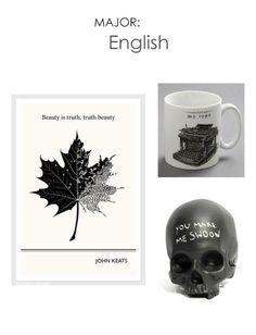 English Major. #adoredecor #college