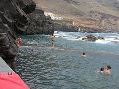 Piscinas naturales de la Fajana. Isla de San Miguel de la Palma. Islas Canarias
