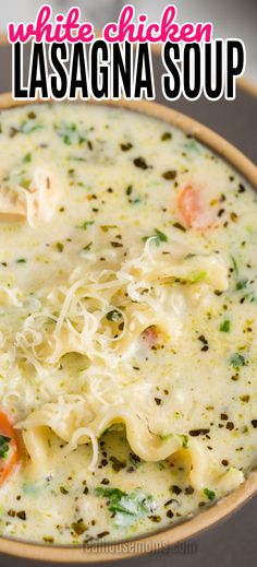 Chicken Soup Recipes, Easy Soup Recipes, Chili Recipes, Crockpot Recipes, Easy Noodle Soup Recipe, Cooking Recipes, Creamy Chicken Stew, Chicken Soups, Chowder Recipes