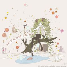初音ミク×ちほP×earth music & ecology Japan Label