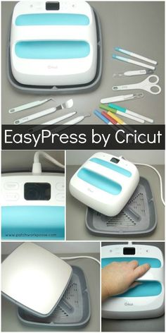 How to Use the Easypress by Cricut - i love this machine!!! #quilting #sewing #crafts #diy #cricut