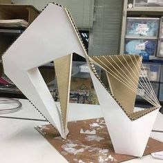 Project Concept Models Architecture, Architecture Student, Kinetic Architecture, Interior Architecture, Cardboard Model, Abstract Sculpture, Joinery, Paper Art, Gate