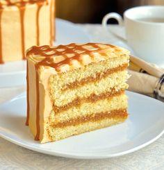 #Caramel Cake. #CaramelMania
