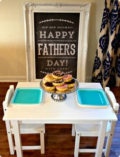 Father's Day Breakfast / Father's Day Chalkboard