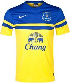 Everton 2013 14 Nike Away Kit Soccer Kits 7816f486aced4