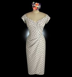 If I could pull if an amazing polka dot wedding dress like this! http://www.whirlingturban.com/wedding_boutique/single_product.php?id=71&rand=353998132